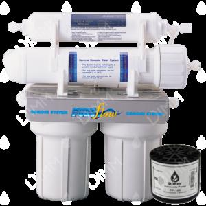 Osmoseur domestique AP 2500 - 100 GPD (380 L/j) avec pompe permeat