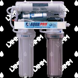 Osmoseur domestique AP 4000 - 75 GPD (284 L/j) avec pompe booster