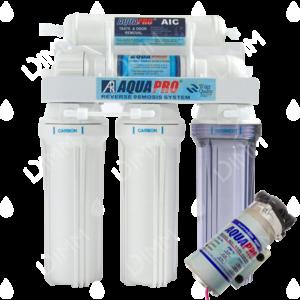 Osmoseur domestique AP 5000 - 50 GPD (190 L/j) avec pompe booster
