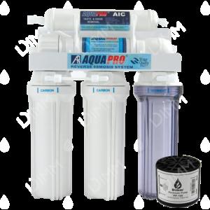 Osmoseur domestique AP 5000 - 75 GPD (284 L/j) avec pompe permeat