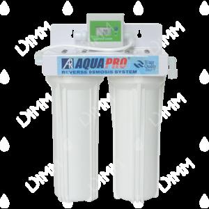 Purificateur d'eau sous évier 2 niveaux avec compteur digital + cartouches