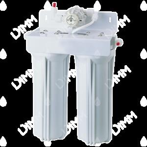 Purificateur d'eau sous évier 2 niveaux avec compteur + cartouches