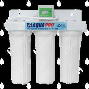 Purificateur d'eau sous évier Aquapro (undertop) 3 niveaux de filtration avec compteur