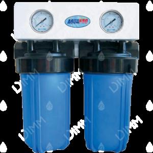 Purificateur d'eau Aquapro Big Duo 10'' avec cartouche GAC