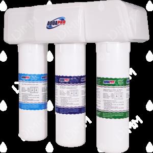Purificateur d'eau sous évier avec habillage 4 niveaux avec cartouche ultrafiltration