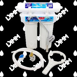 purificateur d'eau sous évier aquapro 2 niveaux avec cartouches NLF