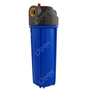 Porte-filtre AEG 10'' avec joints - raccordement en laiton 3/4''