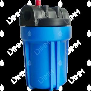Porte-filtre AQF 5'' bleu - raccordement 1/2''