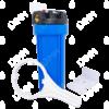 Porte-filtre AQF 10'' avec accessoires - raccordement en laiton 3/4''