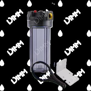 Porte-filtre AQF 10'' avec accessoires - raccordement en laiton 3/8''