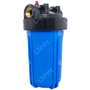 Porte-filtre AQF Big Blue 10'' - raccordement en laiton 1''