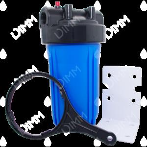 Porte-filtre AQF Big Blue 10'' avec accessoires - raccordement 1''