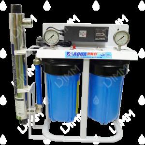 Système jumelé Big Blue 10'' (KDF) avec stérilisateur UV