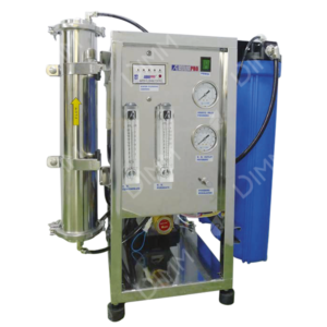 Osmoseur 1000 GPD (3785 L/j) avec membrane Filmtec + conductivimètre