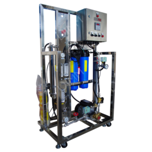 Osmoseur large 1000 GPD (3785 L/j) avec boitier IP