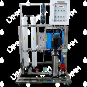 Osmoseur large 6000 GPD (22710 L/j) avec boitier IP + conductivimètre + recirculation