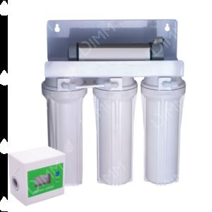 Purificateur sous évier 3 niveaux avec compteur + stérilisateur UV