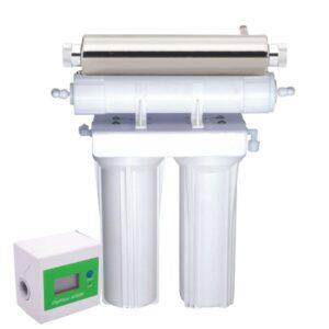 Purificateur sous évier 2 niveaux avec compteur + stérilisateur UV
