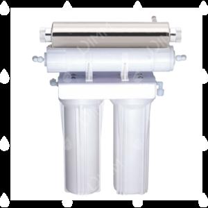 Purificateur sous évier 2 niveaux avec stérilisateur UV