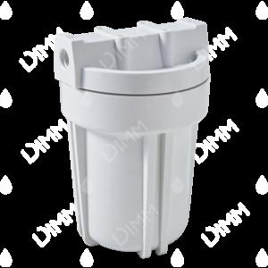 Porte-filtre AYT 5'' blanc - raccordement 1/4''