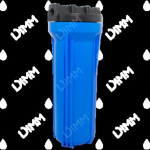 Porte-filtre AYT 10'' bleu - raccordement 1/4''