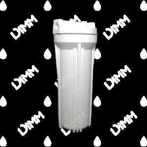 Porte-filtre AYT 10'' blanc - raccordement 1/4''