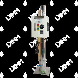 Stérilisateur UV vertical 12 GPM (2725 L/h) sur socle avec compteur horaire + moniteur
