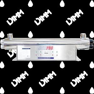 Stérilisateur UV horizontal 48 GPM (10900 L/h) avec compteur horaire