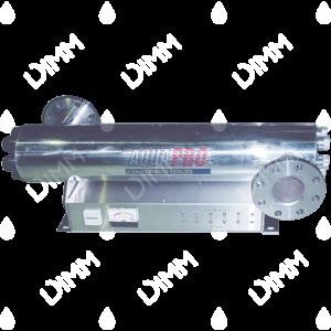 Stérilisateur UV horizontal 72 GPM (16350 L/h) avec compteur horaire